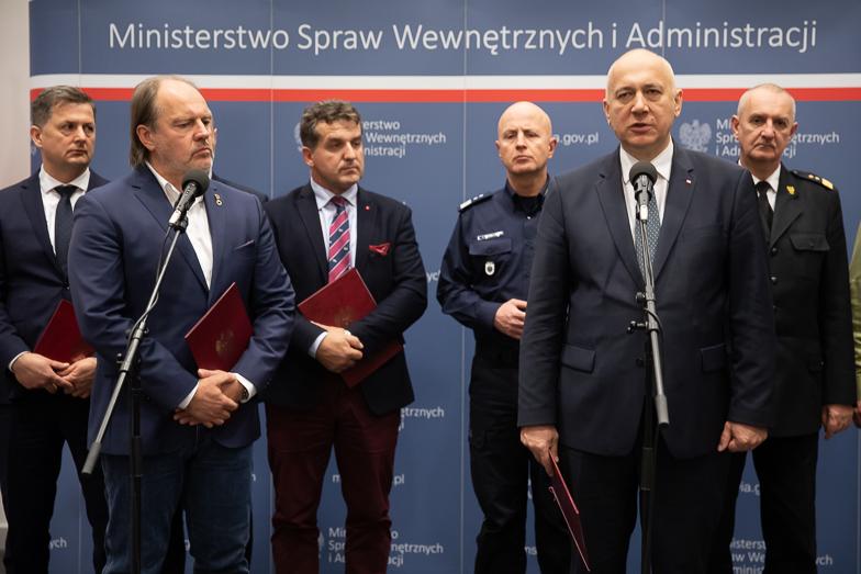 Jest porozumienie między służbami ratunkowymi a rządem. Koniec akcji protestacyjnej