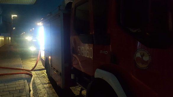 Pożar dworca PKP w Oświecimiu. ZDJĘCIA !