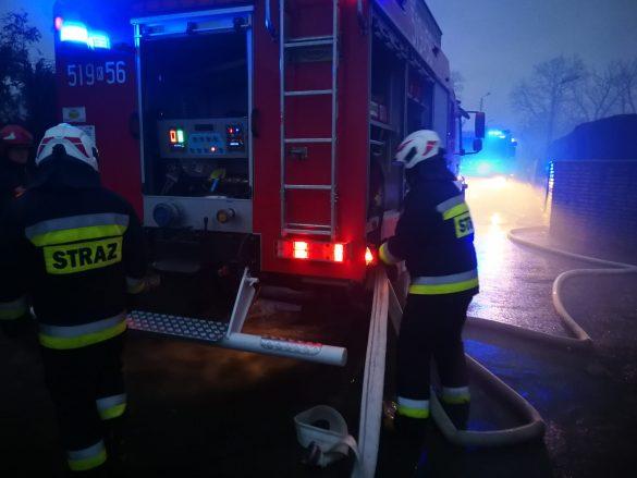 Pożar w Jawiszowicach. ZDJĘCIA, FILM !