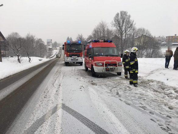 Trudne warunki na drogach powiatu. Doszło do kilku kolizji. ZDJĘCIA!