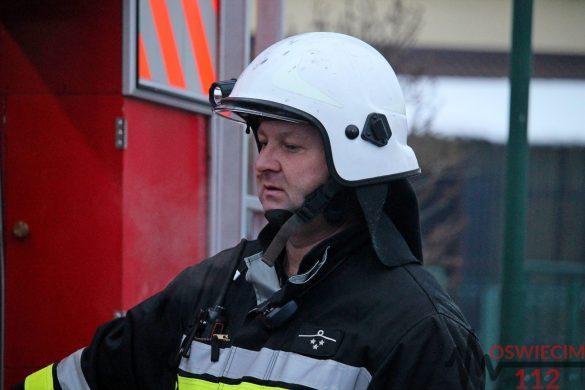Pożar budynków mieszkalnych w bliźniaczej zabudowie. ZDJĘCIA, FILM!