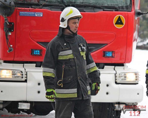Dachowanie na DW933 w Brzeszczach. ZDJĘCIA!