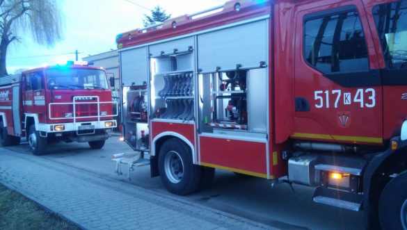 Pożar budynku mieszkalnego w Zatorze – ZDJĘCIA!
