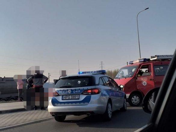 Poważny wypadek z udziałem motocyklisty na DW948 w Bielanach – ZDJĘCIA!