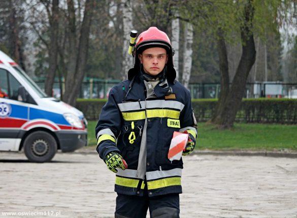 Wojewódzkie ćwiczenia na terenie Państwowego Muzeum Auschwitz – FILM, ZDJĘCIA!