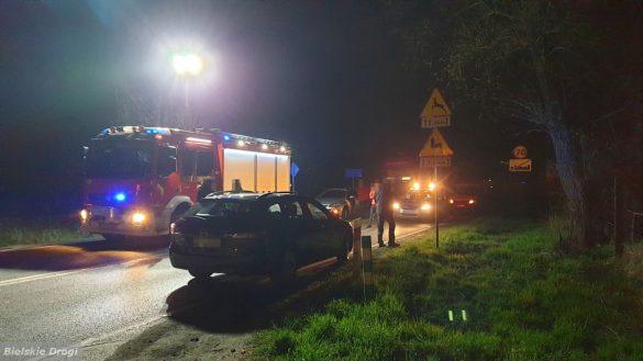 Aktualizacja do wypadku w Brzeszczach. Na miejscu zginął 68-letni mieszkaniec Brzeszcz – ZDJĘCIA!