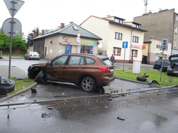 Niebezpiecznie na drogach powiatu oświęcimskiego. ZDJĘCIA!
