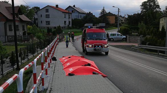 Śmiertelny wypadek w Osieku. Nie żyje motocyklista – ZDJĘCIA, FILM!