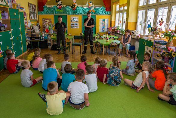 Służby Ratunkowe oraz Oświęcim112 z wizytą u Przedszkolaków – ZDJĘCIA!