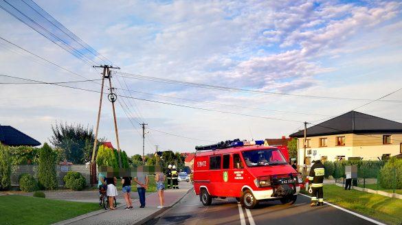 Zderzenie dwóch pojazdów w Polance Wielkiej – ZDJĘCIA!
