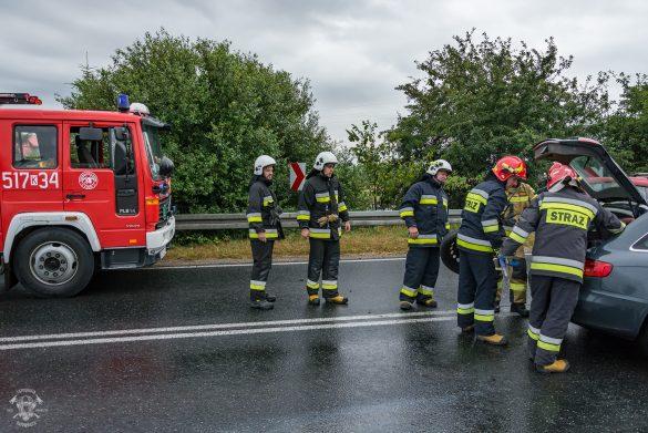 Wypadek drogowy w Bobrku – ZDJĘCIA!