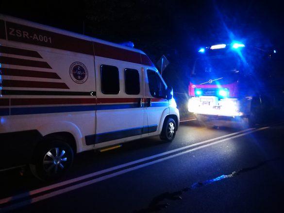 Wypadek w Zatorze. Na miejsce wezwano śmigłowiec LPR Ratownik 6 – ZDJĘCIA!