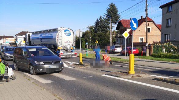 Śmiertelny wypadek w Brzeszczach – ZDJĘCIA!