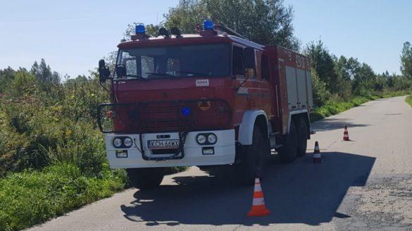 Samochód wpadł do Wisły. Trwa akcja ratunkowa – ZDJĘCIA!