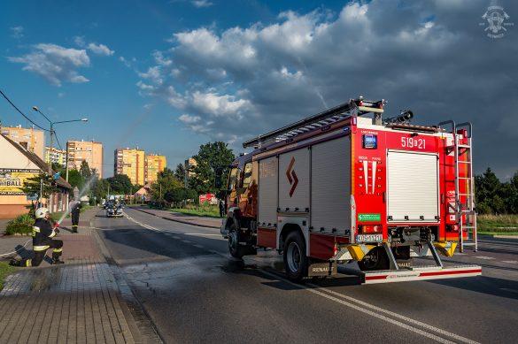 Nowy samochód ratowniczo gaśniczy w OSP Oświęcim – ZDJĘCIA!