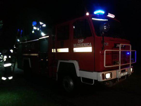 Silny wiatr w powiecie oświecimskim. Strażacy w dalszym ciągu prowadzą działania – ZDJĘCIA, FILM!