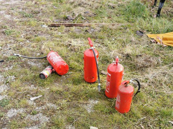 Pożar samochodu osobowego w Chełmku – ZDJĘCIA!