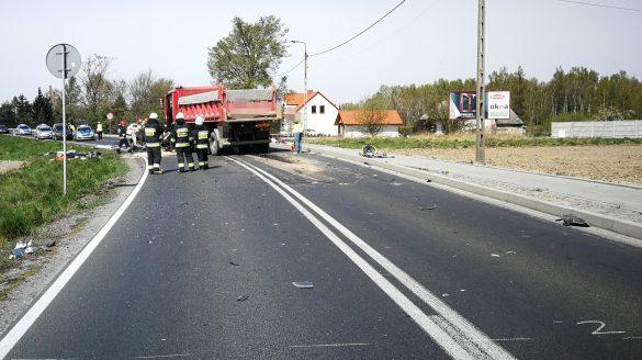 Tragedia na DK44 w Oświęcimiu. ZDJĘCIA, FILM!