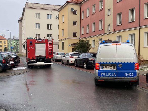 Interwencja służb przy ulicy Olszewskiego w Oświęcimiu – ZDJĘCIA!