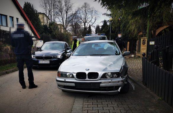 Policyjny pościg ulicami Oświęcimia. Poszukiwany kierowca BMW – ZDJĘCIA!