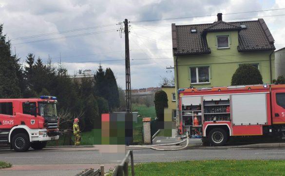 Pożar w Oświęcimiu. W akcji pięć zastępów straży pożarnej – ZDJĘCIA!