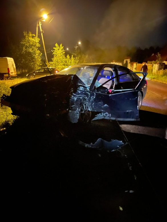 Wypadek w Chełmku. Są osoby poszkodowane. Jedna z osób nieprzytomna – ZDJĘCIA!