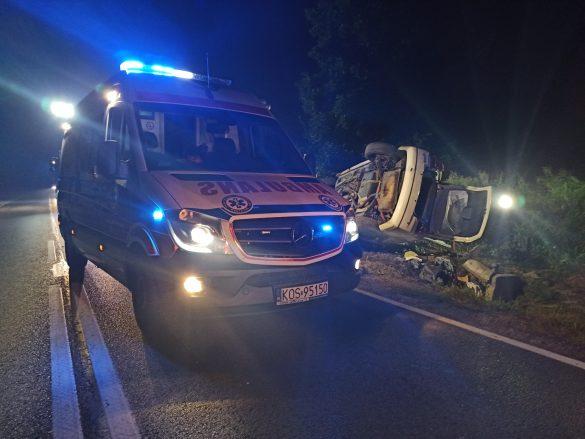 Śmiertelny wypadek we Włosienicy – ZDJĘCIA!